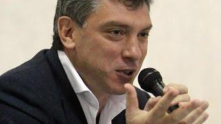 Борис Немцов о коррупции на строительстве олимпийских объектов в Сочи(Видео иллюстрирует текст: