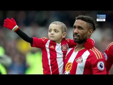 Il piccolo Bradley e il campione Defoe: storia di un'amicizia che ha commosso il mondo