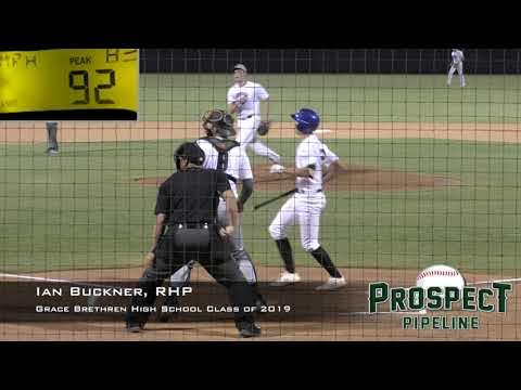 Ian Buckner Prospect Video, RHP, Grace Brethren High School Class of 2019