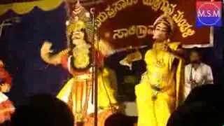 Yakshagana - Prasanna Shettigar - Agni Charithra - Raghavendra Mayya - Saligrama Mela 2013