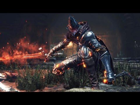 Dark Souls 3: Abyss Watchers Boss Fight (4K 60fps)