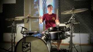Anberlin - Never Take Friendship Personal (Drum Cover by Anthony Applegate) [Studio Quality]