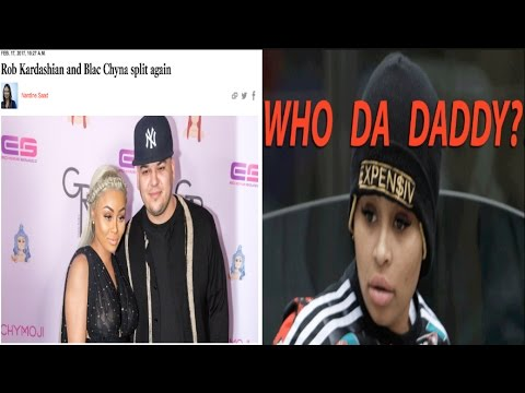 """Rob Kardashian and Blac Chyna have split """"for real this time"""" + is she pregnant again?! 🤔"""