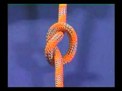 The Thumb Knot (Overhand Knot) - YouTube