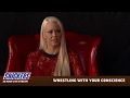 Maryse and Miz s live video on Snickers