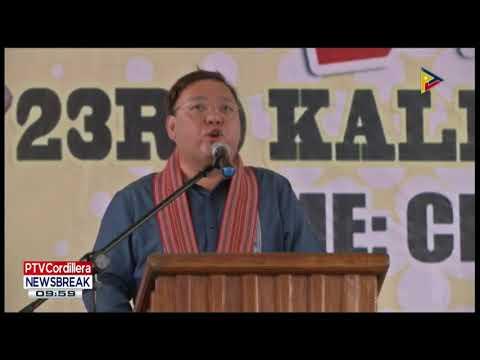 NEWS BREAK: Cordillera Autonomy, ipangruna ni Pres. #Duterte