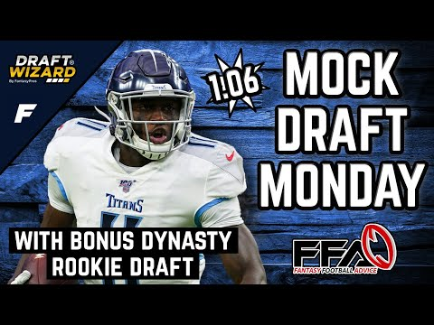 Fantasy Football Mock Draft - 2020 Fantasy Football Advice | 12 Team | Half PPR | 6th Pick