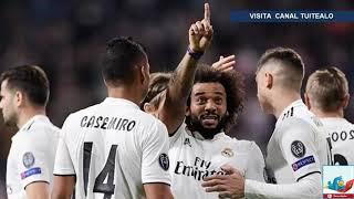 Con goles de Marcelo y Benzema Real Madrid vence 2-1 al Viktoria Plzen en la Champions League