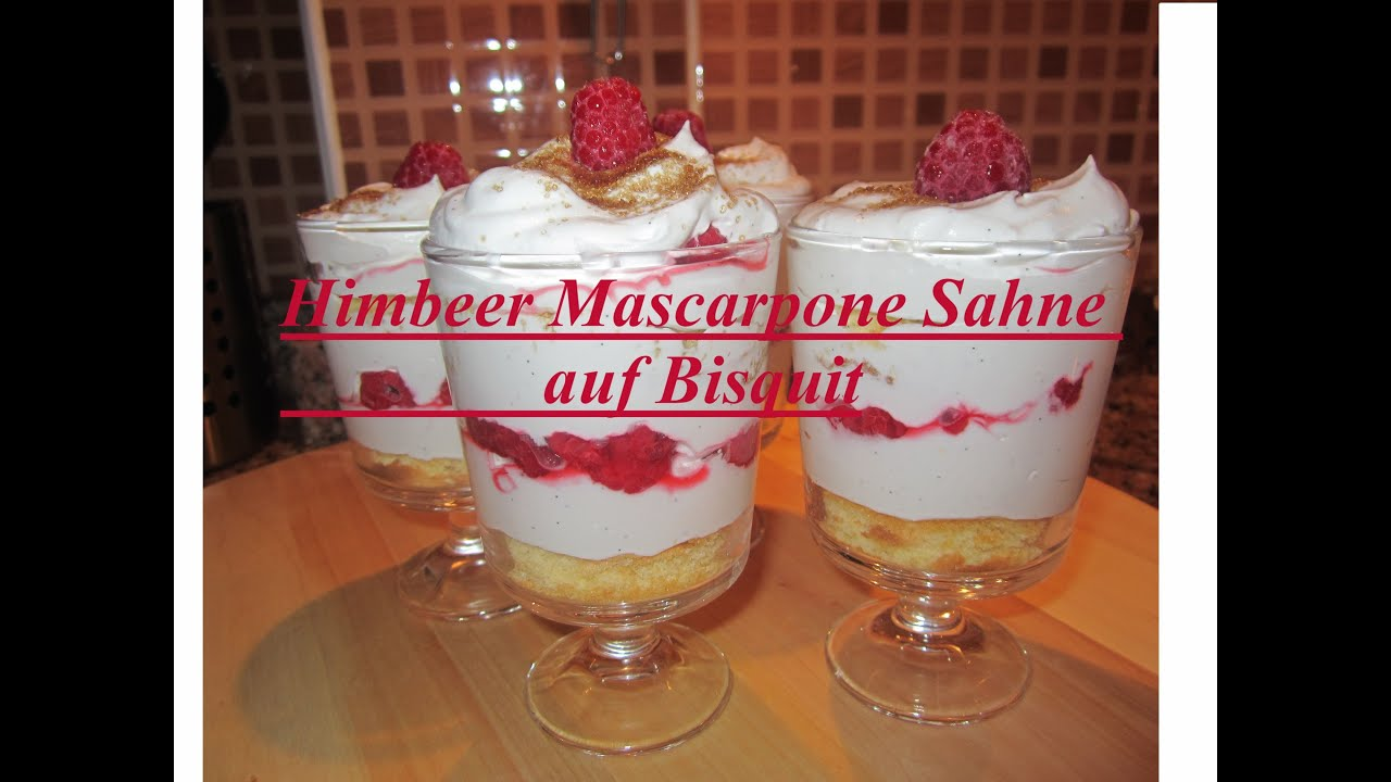 valentinstag men das dessert himbeer mascarpone sahne auf bisquit youtube. Black Bedroom Furniture Sets. Home Design Ideas