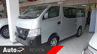 2019 Nissan NV350 Urvan - Exterior & Interior Review (Philippines)