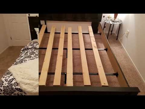 Box Spring DIY Under $20 L Mattress Without A Box Spring