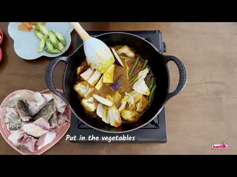 Easy and Fuss Free Cooking Using Kantan Fish Curry Paste