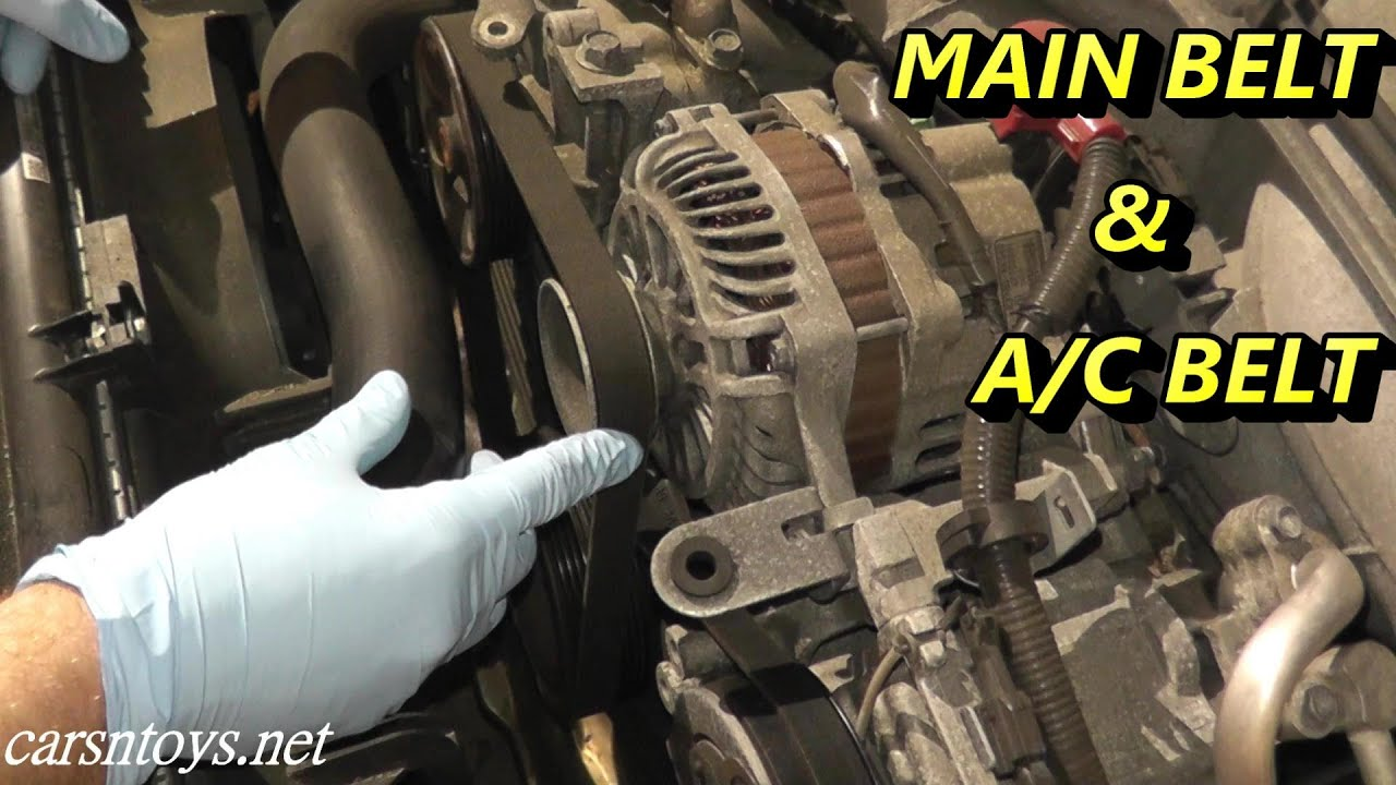 Ac Belt Replacement Mobile Serpentine Service From 2000 Subaru Outback Fan Drive 2 5 Impreza Forester