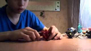 My first video (Russian BAKUGAN)