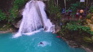 Jamaica best attractions &quotBlue Hole&quot