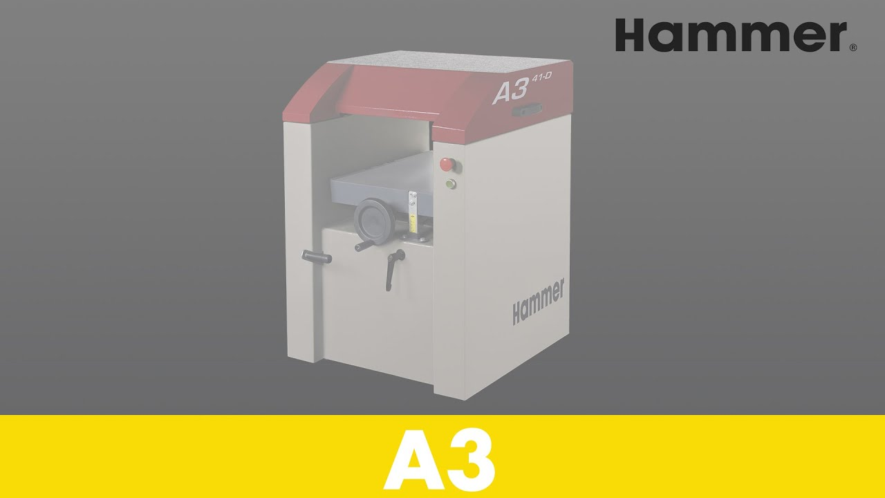 HAMMER® - A3 - Jointer-Planer