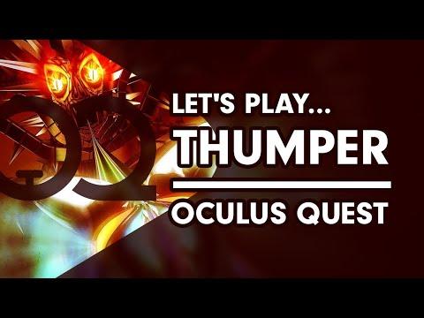 Thumper VR - Oculus Quest Gameplay