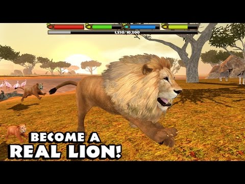 #ULTIMATE #LION #SIMULATOR - By Gluten Free Games - Compatible with iPhone, iPad, and iPod touch.