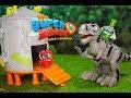 Superzings - Dinosaurio T Rex y el laboratorio secreto - Episodio Superzings serie 2 y 1