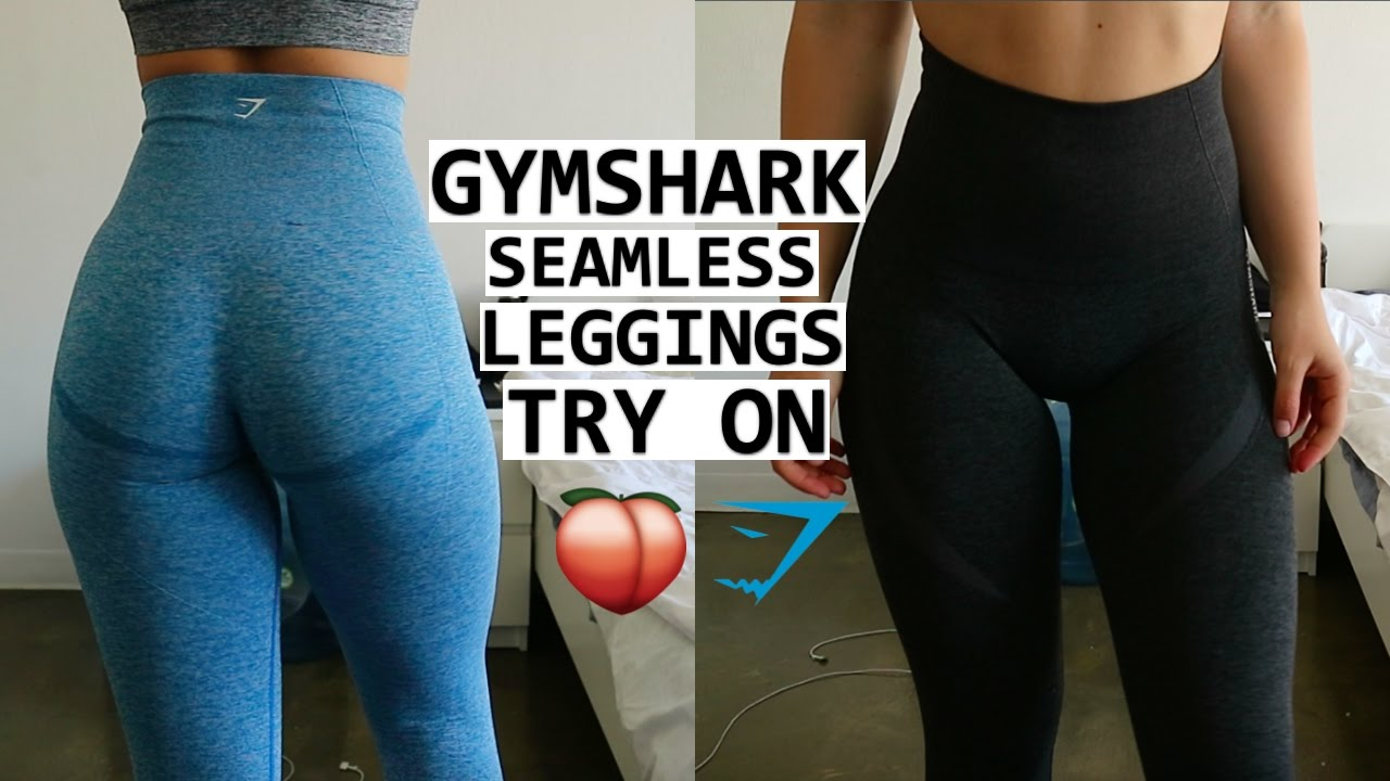 6cea448f1e GYMSHARK SEAMLESS LEGGINGS TRY ON
