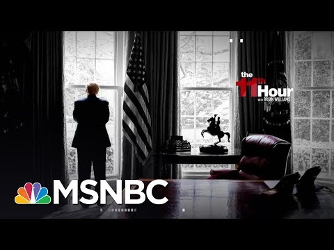 Trump White House Staff Knows 'This Is Not Going Well' | The 11th Hour | MSNBC