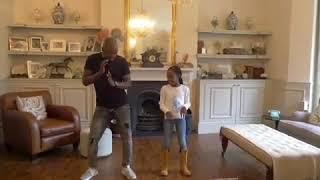 EDDIE KADI teaches Teija how to move her waist!