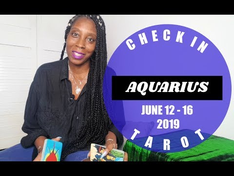 Aquarius Monthly Career Horoscope June 2019