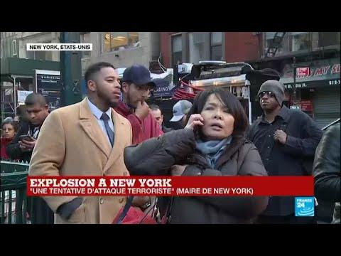 Attentat terroriste à New York : trois blessés, un suspect de 27 ans arrêté