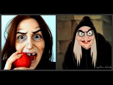 Maquillage d 39 halloween sorci re blanche neige youtube - Maquillage sorciere femme ...