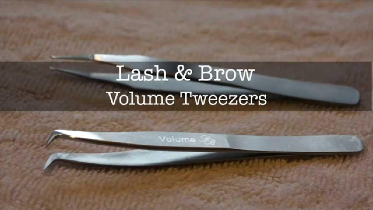 Volume Lash Tweezers Review