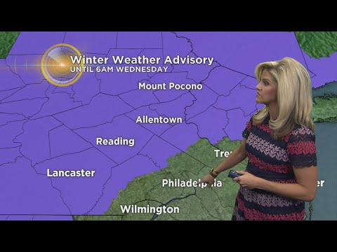 Weather Update: Where The Most Snow Will Fall