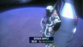 Repeat youtube video Felix Baumgartner Space Jump World Record 2012 Full HD 1080p [FULL]