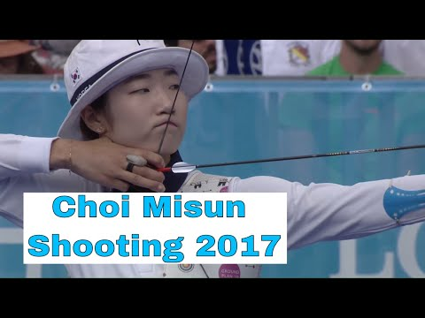 b350a4756 Choi Misun Shooting Archery 2017 - YouTube