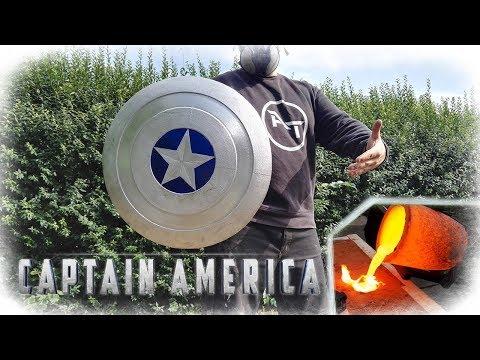 Casting Aluminum Captain America Shield (MARVEL)