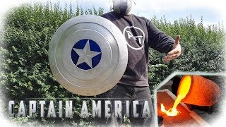 Casting Aluminum Captain America Shield (MARVEL)