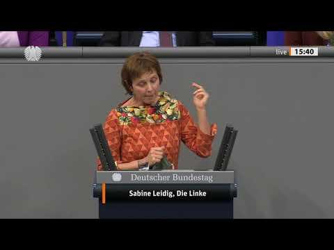 Rede von Sabine Leidig am 7. Oktober 2020 im Deutschen Bundestag zum Thema Ein Erfolg der Bewegung: aktuelle Debatte über die Zukunft des Autobahnbaus