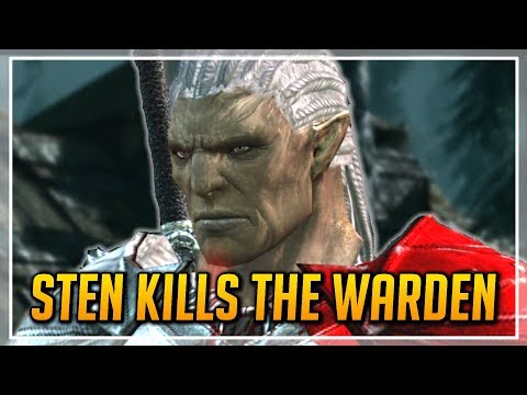 Dragon Age: Origins - Sten Kills the Grey Warden + Other Outcomes