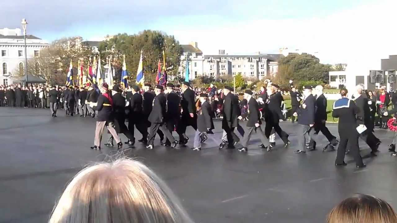 Remembrance Sunday Plymouth