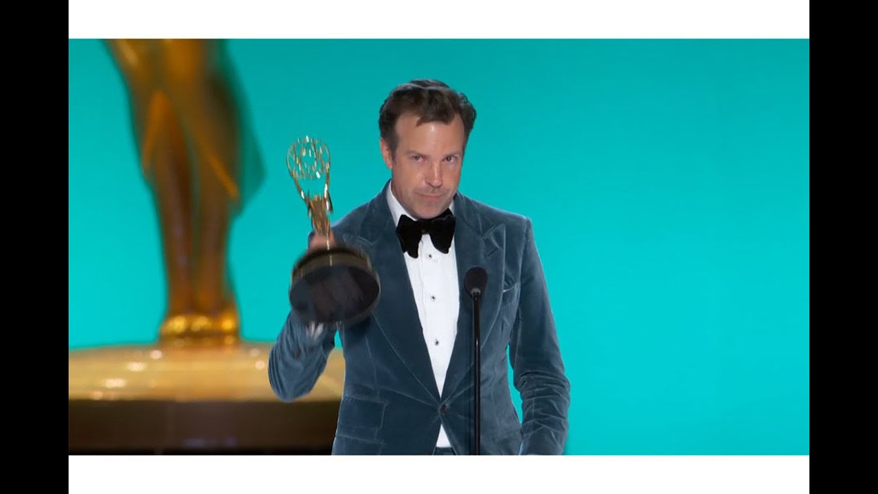 Jason Sudekis wins the Emmy for Lead Actor in a Comedy: 73rd Emmys
