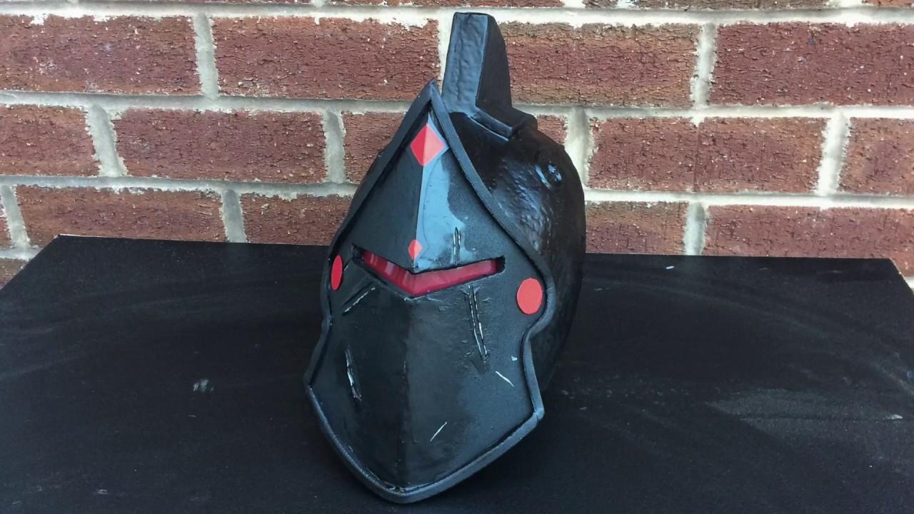 Easy How To Make The Black Knight Helmet From Fortnite For Kids
