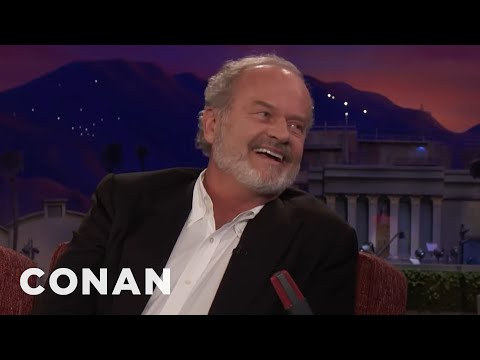"Kelsey Grammer Auditioned To Play Han Solo In The Original ""Star Wars""  - CONAN on TBS"