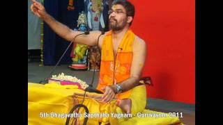 Srimad Bhagavatha Sapthaham Yagnam Part 1- Guruvayoor 2011
