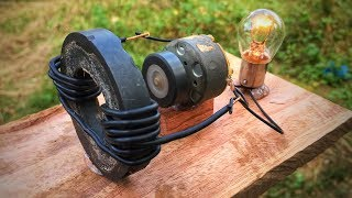 Free energy generator magnet coil 100% || New science technology project 2019