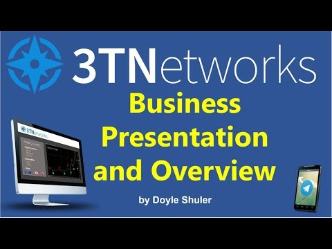3TNetworks Business Presentation and Overview