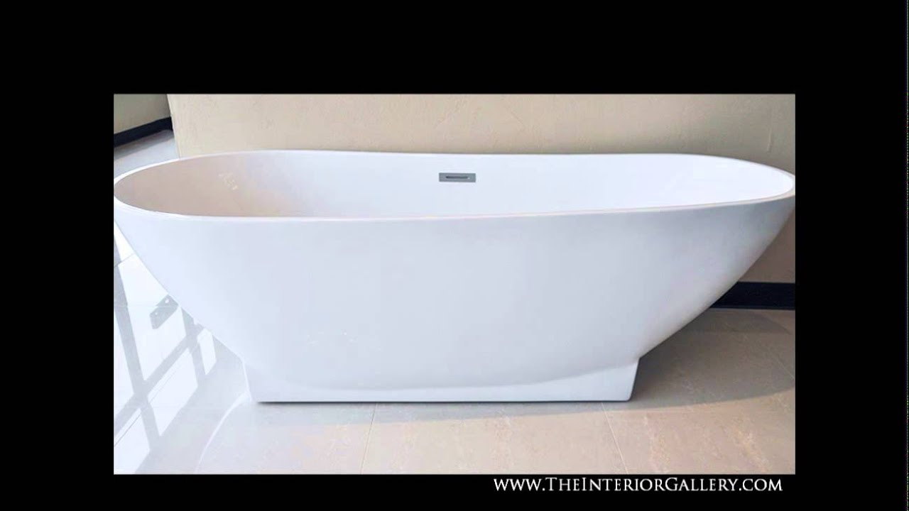 Luxury Acrylic Modern Bathtub - Freestanding Bathtub - Soaking Tub ...