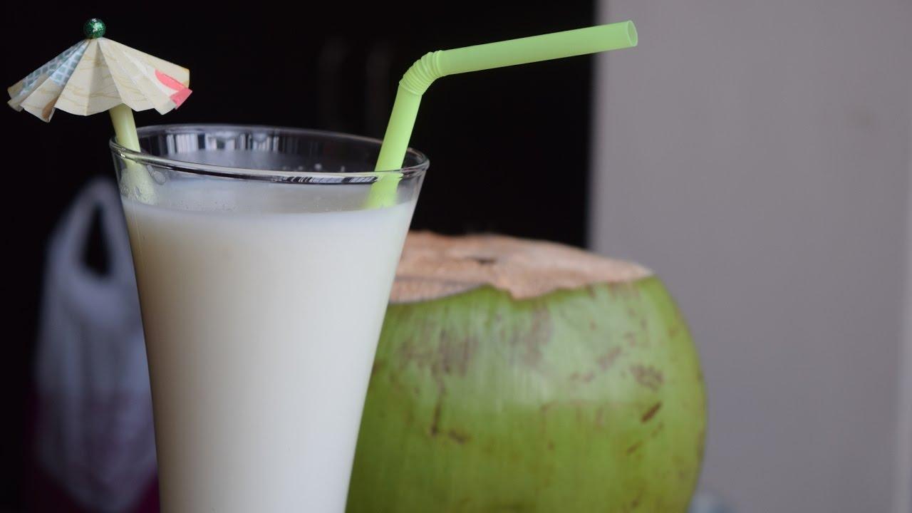 Tender coconut Milkshake - YouTube