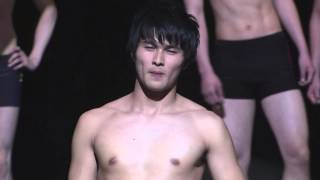 2013 Mr.japan 2nd session - swimsuit walking -
