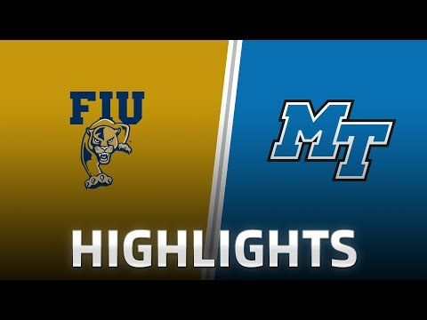 Highlights: FIU at Middle Tennessee