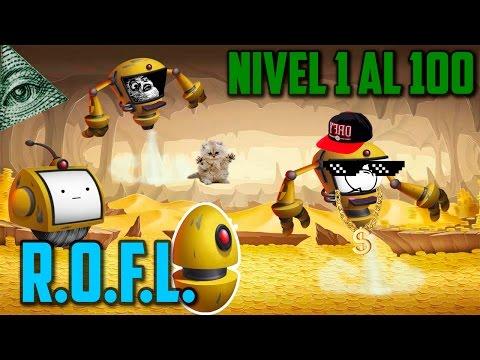 Monster Legends - R.O.F.L. (Nivel 1 al 100) + Combate