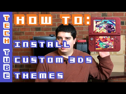 How to Install Custom 3DS Themes - FREE!